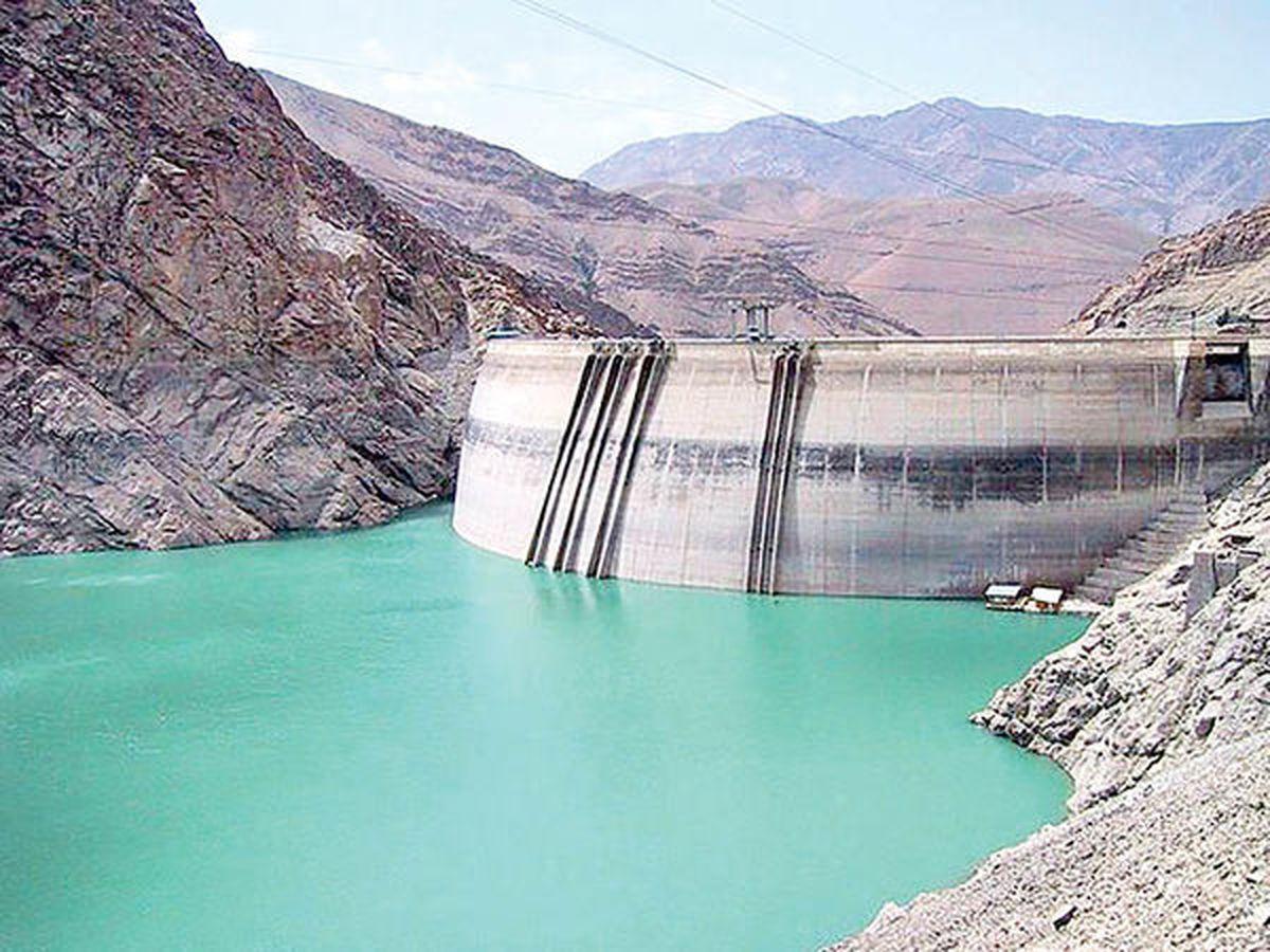 کاهش ورودی آب به سدها
