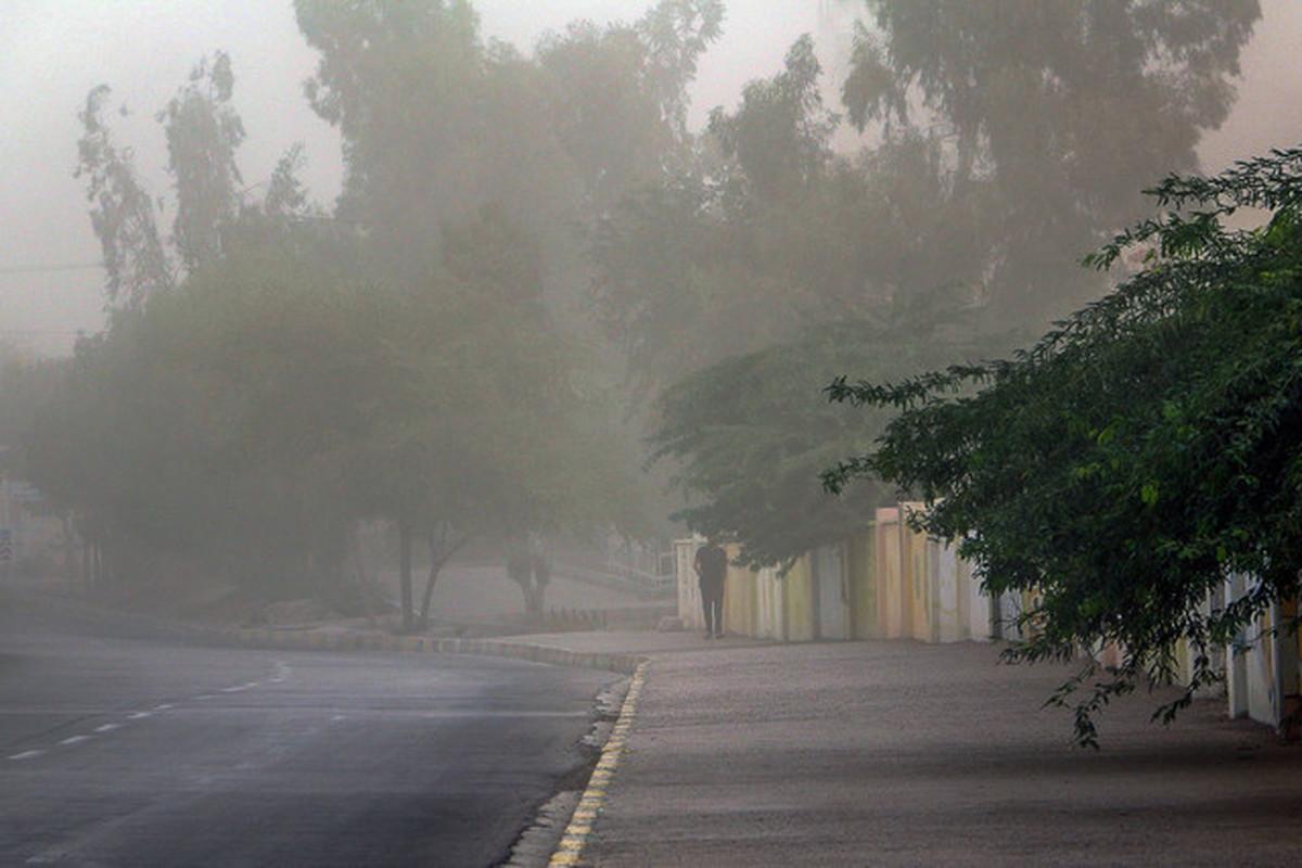 وزش باد شدید و رگبار باران در برخی مناطق کشور