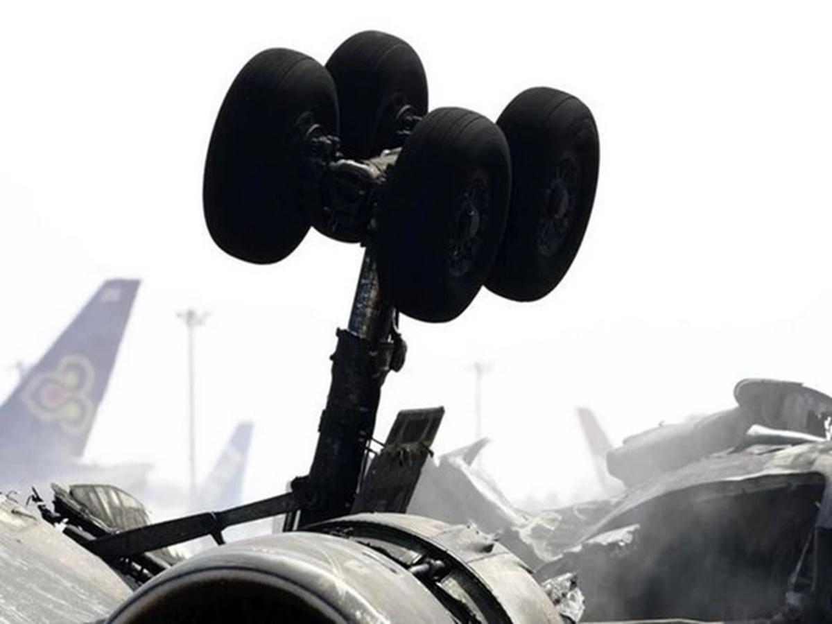 سقوط یک هواپیمای نظامی افغان در ازبکستان
