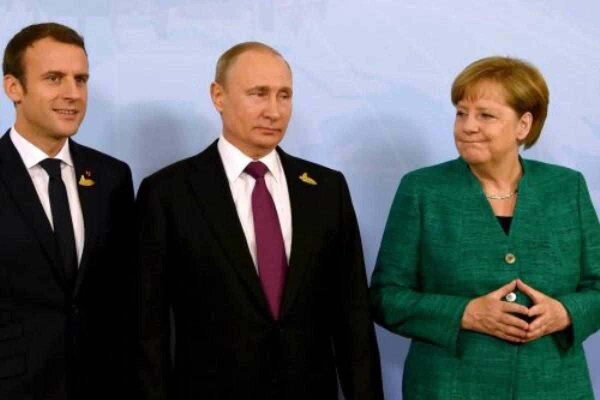 سران آلمان، فرانسه و روسیه درباره برجام رایزنی کردند