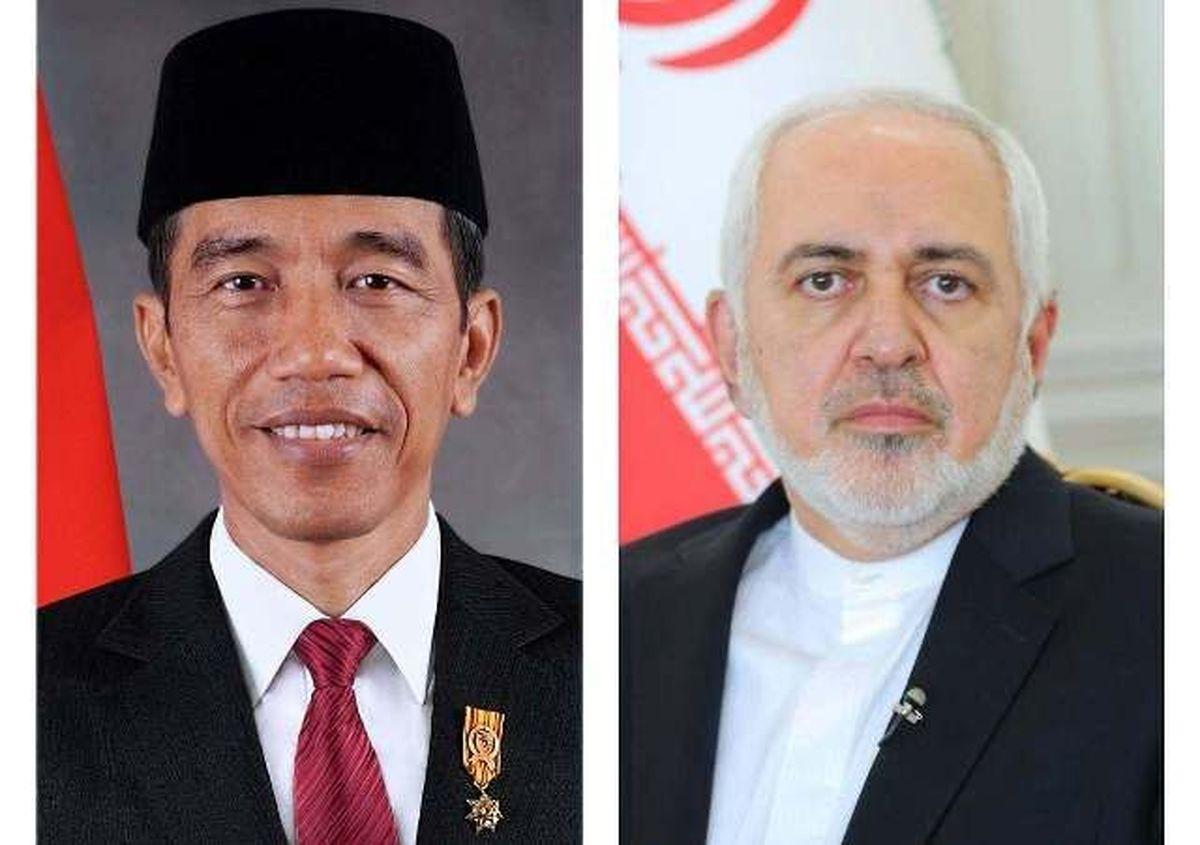 ظریف با رییسجمهوری اندونزی دیدار کرد