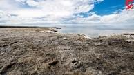 حجم آب دریاچه ارومیه نصف شد