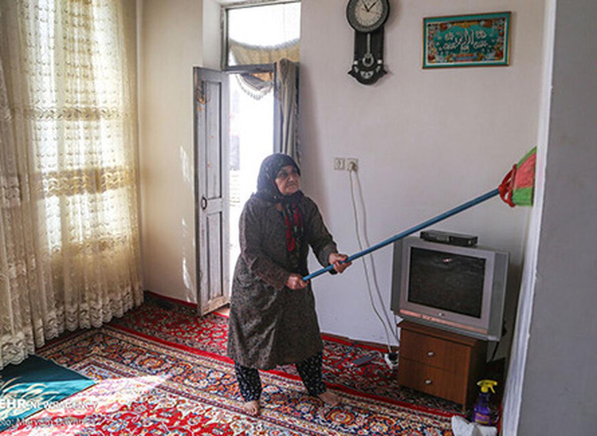 عکس های جالبی از خانهتکانی در بجنورد| سنت کهن خانه تکانی در بجنورد