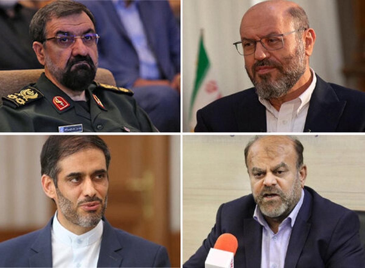 چهار ضلع سرداران انتخابات ۱۴۰۰    سعید محمد شمشیر را از رو بست