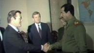 گفتههای رامسفلد در کتاب خاطرات  |   حذف صدام حسین از عراق