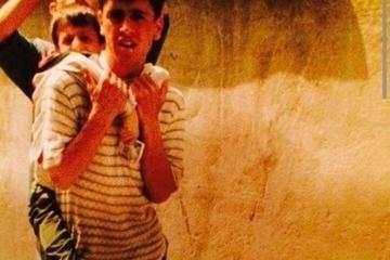 عکس زیر خاکی از نوجوانی یکی از ستارههای برتر فوتبال ایران