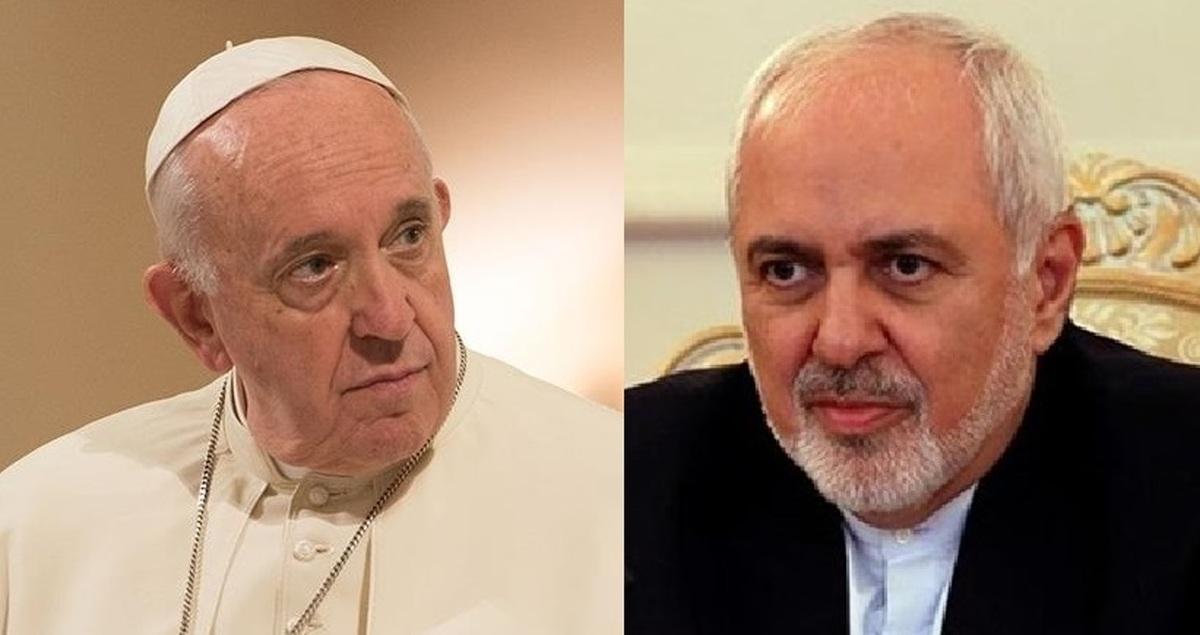 ظریف با پاپ فرانسیس به صورت خصوصی دیدار کرد
