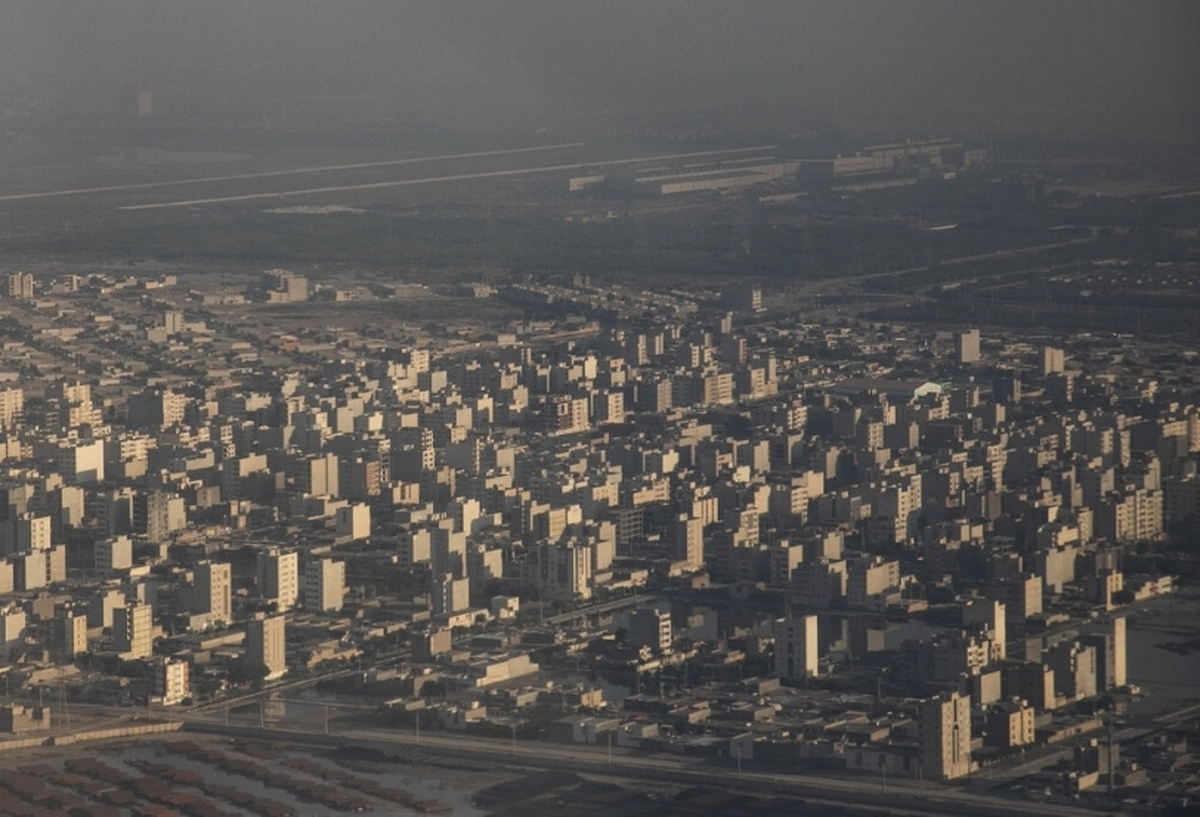 هوای ۷ شهر در شرایط ناسالم