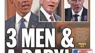 واکنش به نوع رفتار رئیس جمهور ایالات متحده |«سه مرد و یک بچه»