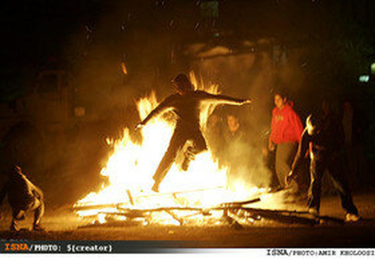 چهارشنبه سوری  |  افزایش مصدومان نسبت به سال گذشته