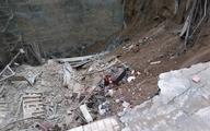 ریزش ساختمان در حال بازسازی در افسریه