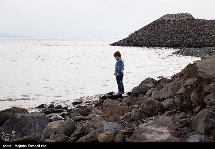 تراز سطح آب دریاچه ارومیه ۵۶ سانتی متر افزایش یافت
