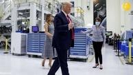 حضور خانواده ترامپ برای مشاهده مراسم پرتاب فضاپیمای ناسا