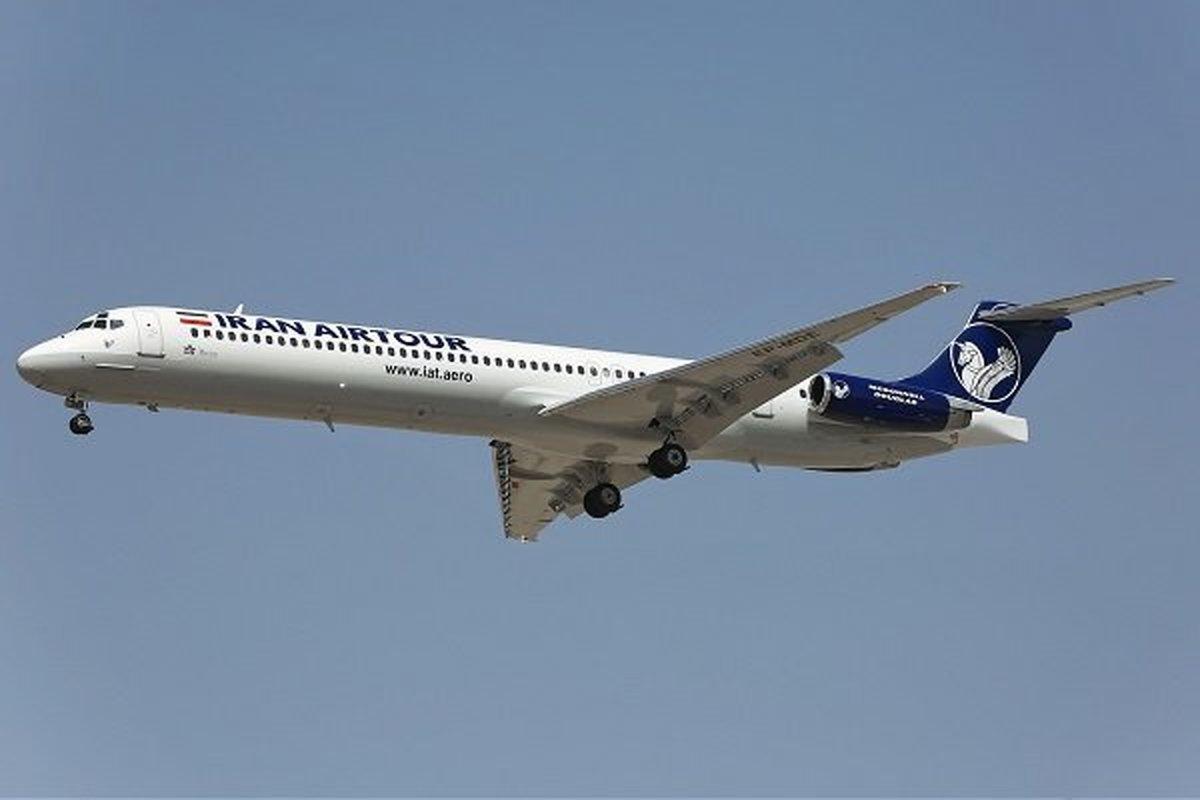 ایجاد مزاحمت جنگنده های آمریکایی برای هواپیمای مسافربری ایرانی بر فراز سوریه