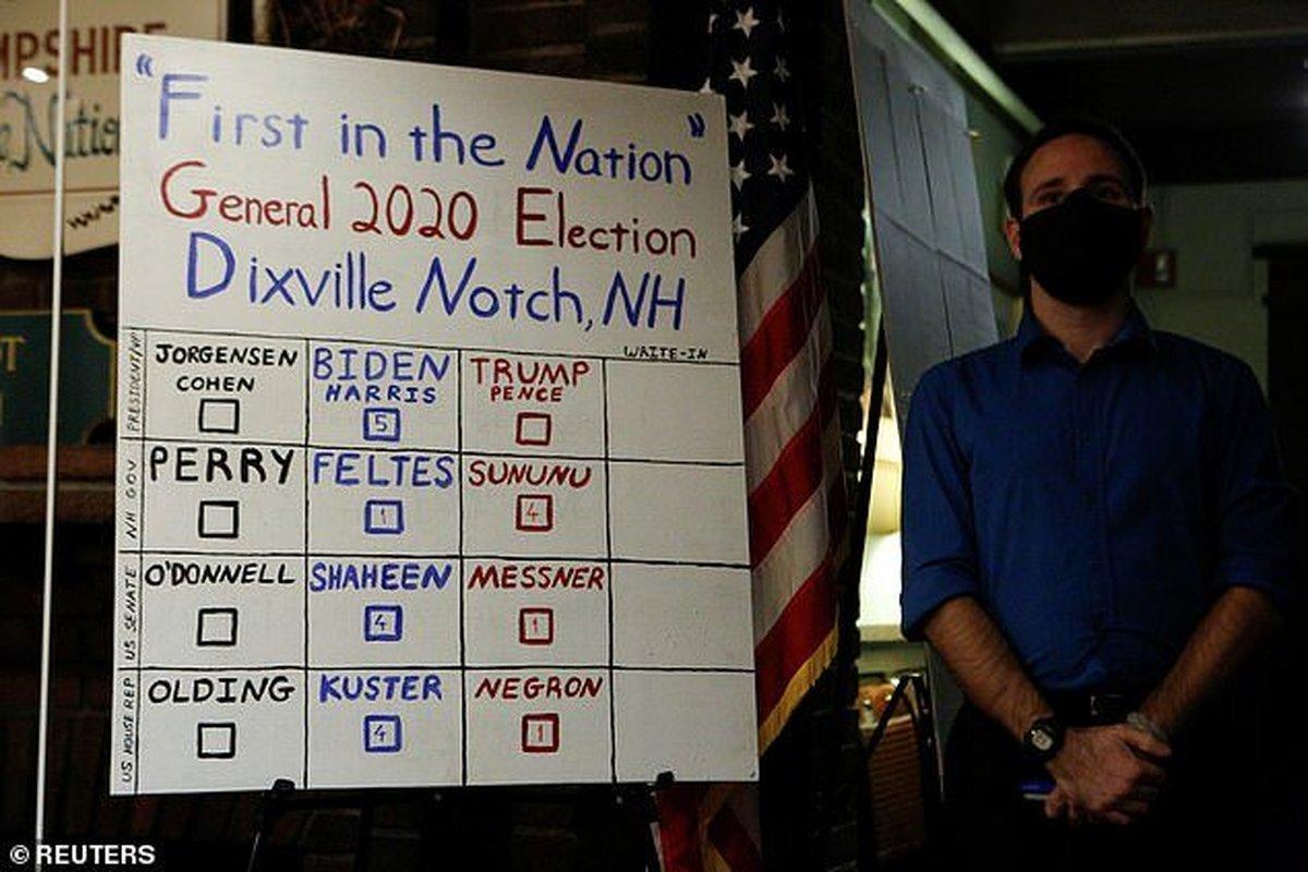 نتایج انتخابات | دومین نتیجه رسمی انتخابات آمریکا اعلام شد