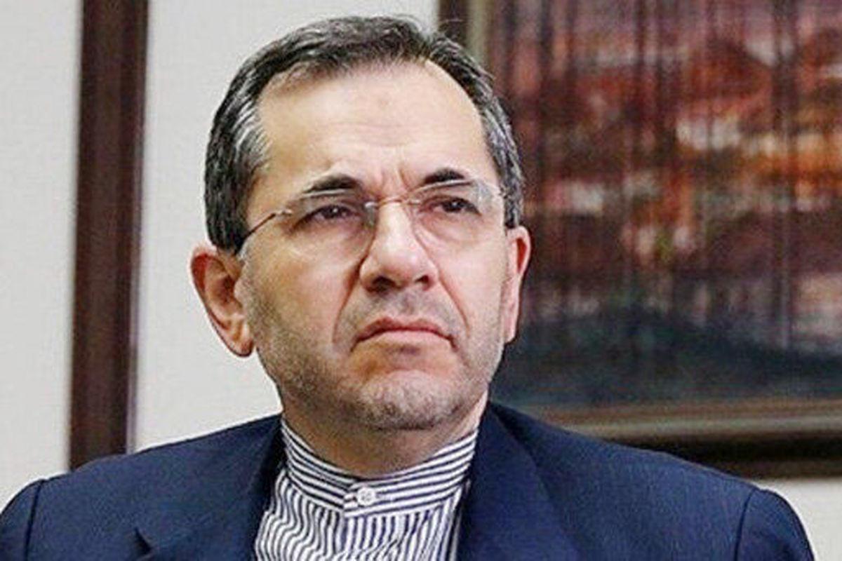 مجید تخت روانچی، ، ادعای نماینده دائم آمریکا را رد کرد