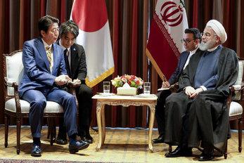 تدارک ژاپن برای روحانی