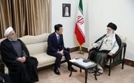 رهبر معظم انقلاب اسلامی در دیدار نخستوزیر ژاپن:  ترامپ را شایسته مبادله پیام نمیدانم با آمریکا مذاکره نخواهیم کرد