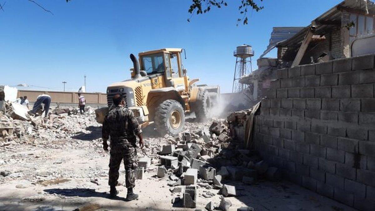 رفع تصرف ۱۴ هکتار از اراضی ملی در سیستان و بلوچستان