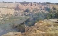 آتشسوزی در منطقه تاریخی باغ خان شوشتر