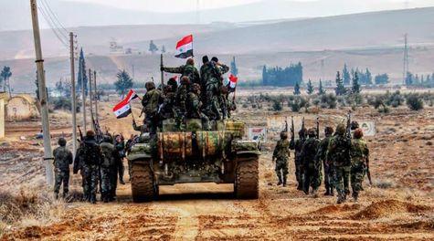 ارتش سوریه تلفات سنگینی به تروریستها وارد کرد