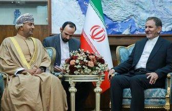 جهانگیری: هیچ محدودیتی برای گسترش همکاری با عمان نداریم