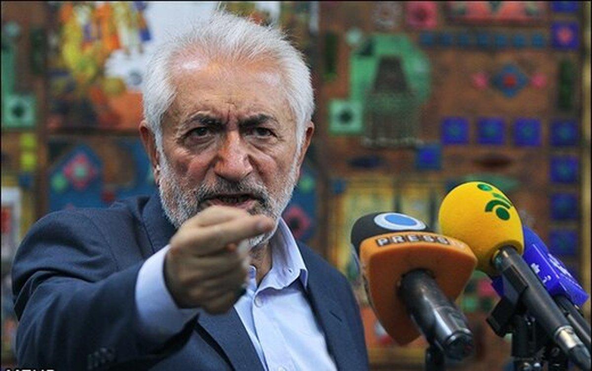 کنایه تند غرضی به محمود احمدی نژاد   برای خود هیچ مسما و اسمی قائل نیستم
