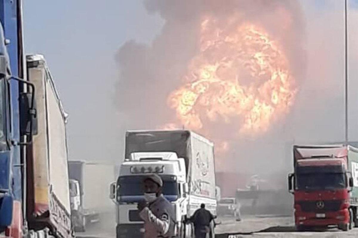 خسارتی به مرز ایران وارد نشده است  ۵۰۰ نفر دچار سانحه شدند