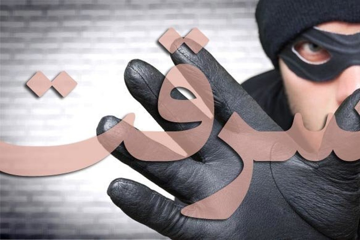 سرقت از خانه شوهر با همدستی پسرخاله